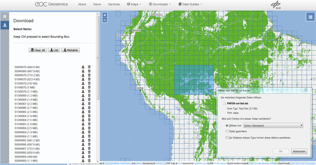 EOC Geoservice Data Guide